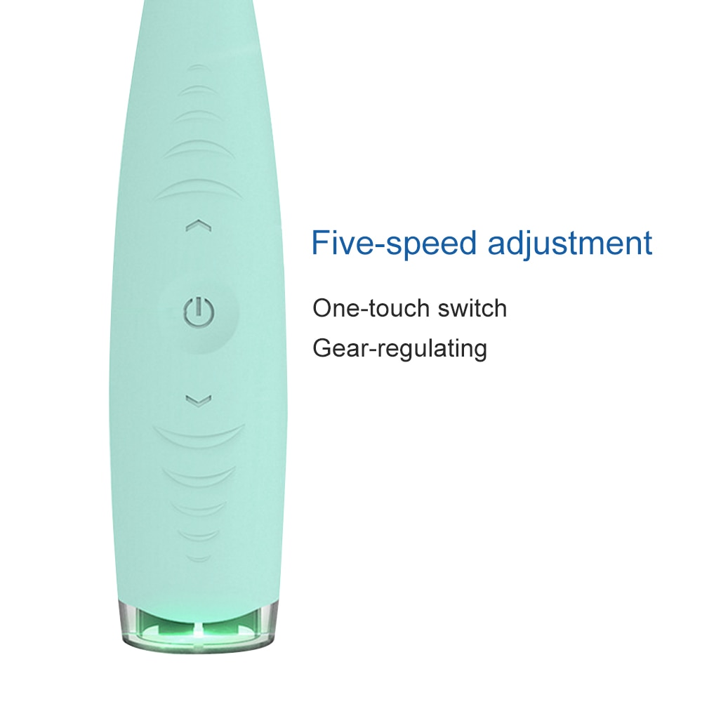 Professional 5 Modes Electric Dental Scaler Sonic Silicone Tooth Cleaner Rechargeable USB Tooth Calculus Remover Stains Tartar enlarge