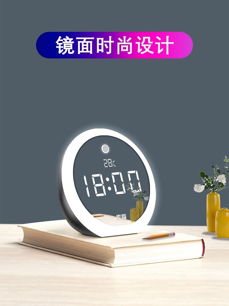 Bonito reloj Despertador Digital con Bluetooth 50nz077, reloj Despertador con luz Usb, Radio Reveil, sala de estar
