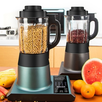 Household 220V stainless steel 1.75l multifunctional food wall breaking machine with heated soybean milk juice food for kitchen