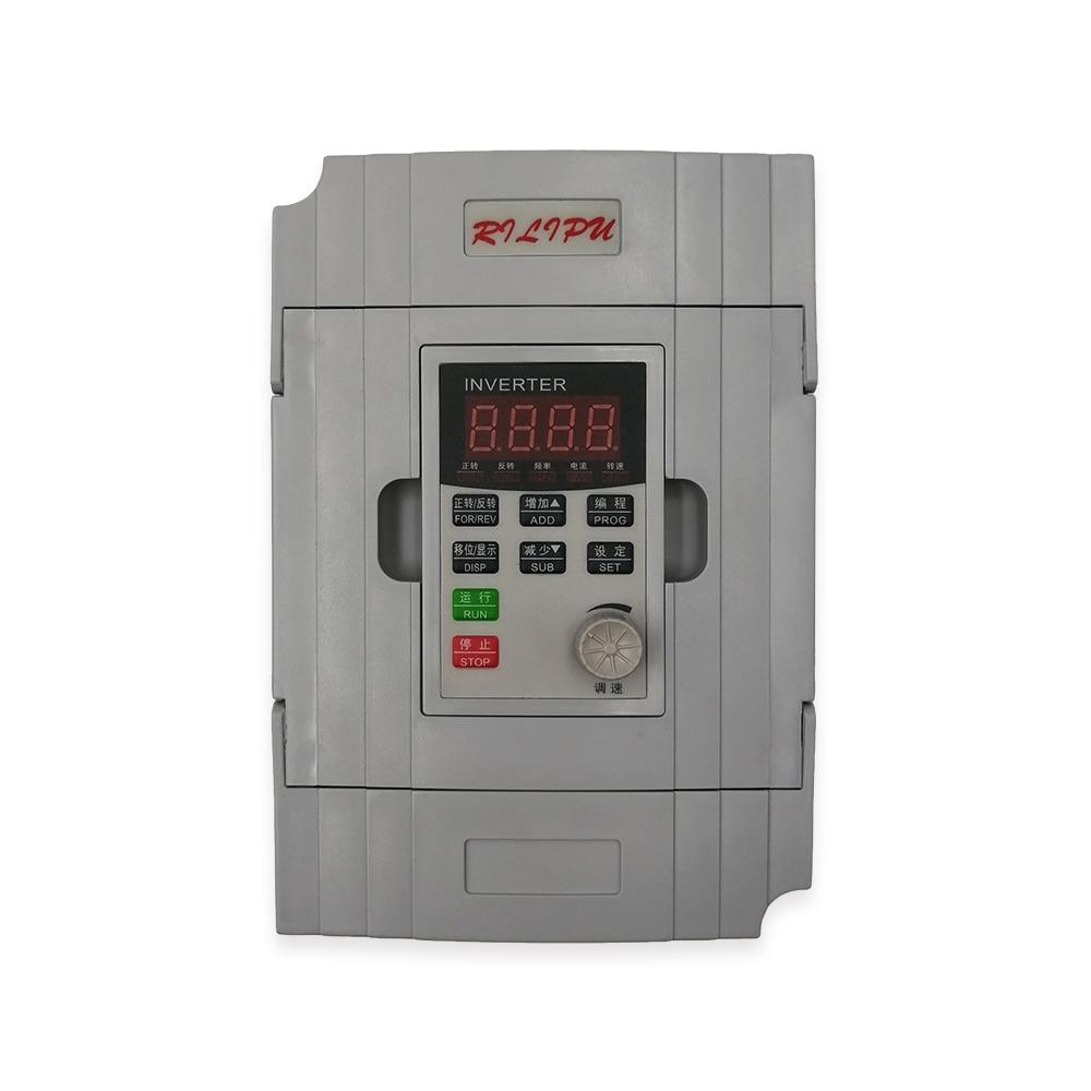 RILIPU inversor VFD convertidor de frecuencia RILIPU envío gratis 750W 220v MiNi convertidor de frecuencia de uso común