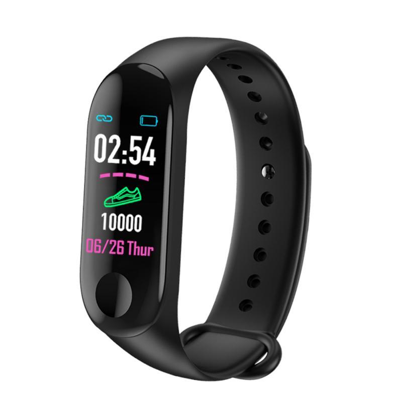 M3 plus Smart Band Heart Rate Activity Bracelet New M3 Plus Smart Wrist Band Bluetooth Sports Bracelet Fitness Activity Tracker