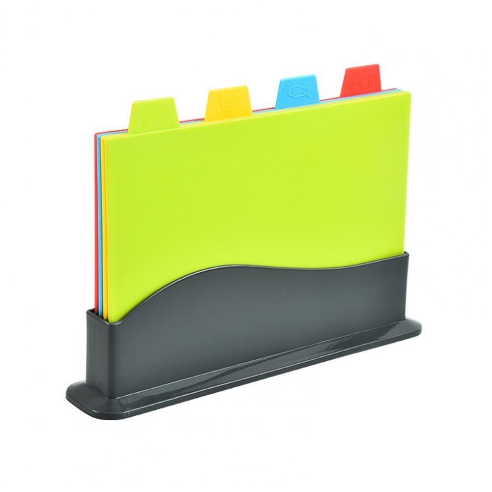 لوح تقطيع بلاستيكي متعدد الوظائف ، 5 قطعة/المجموعة/مجموعة ، غير قابل للانزلاق ، لتقطيع الخضار وأدوات المطبخ