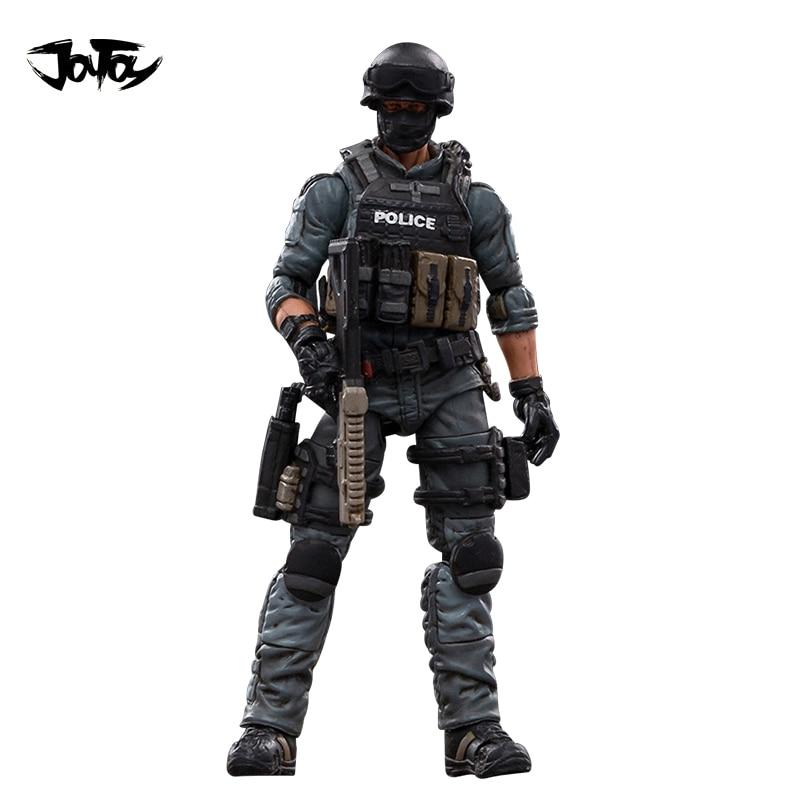 JOYTOY 1/18 3.75 بوصة عمل الشكل مدينة الشرطة شخصية واحدة أنيمي جمع لعبة مجسمة للهدايا شحن مجاني