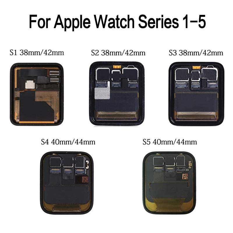 NOHON LCD Display For iWatch Series 1 2 3 4 5 6 Replacement 3D Touch Screen Digitizer Assembly For Apple Watch S1 S2 S3 S4 S5 S6 enlarge