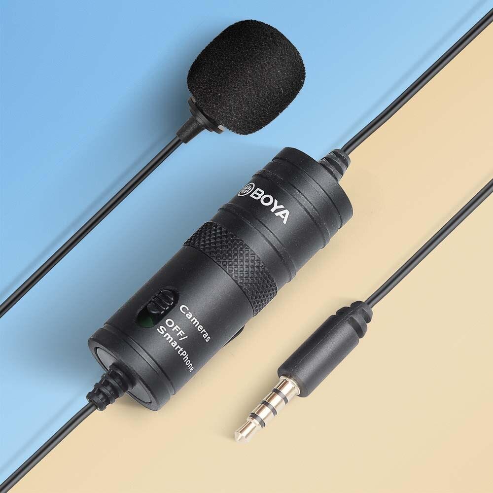3,5 мм мини Аудио Видео Запись Lavalier отворотом микрофон Запись микрофон клип на микрофон для iPhone Android смартфон ПК планшет Микрофоны      АлиЭкспресс