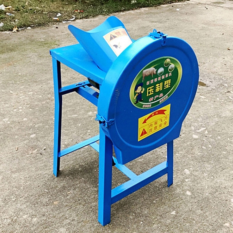 Grass Cutter, Hog Grass Machine, Two-phase Chickens and Ducks, Household Small Electric Green Fodder, Grass Guillotine,shredder