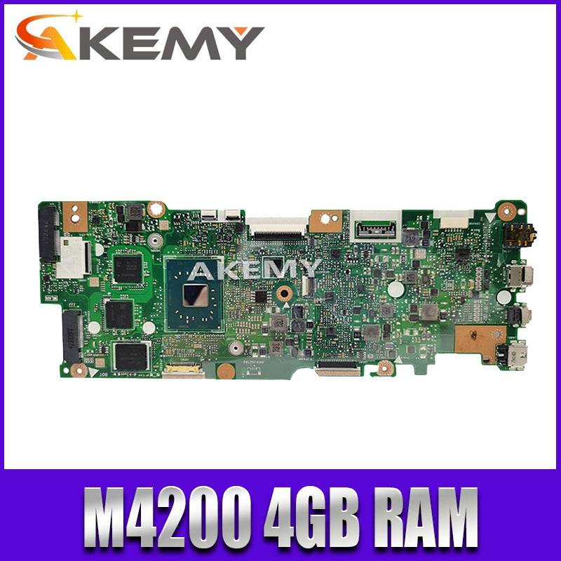 اللوحة الأم For Asus Vivobook Flip TP401NA TP401N N4200 4GB RAM ليس مع SSD