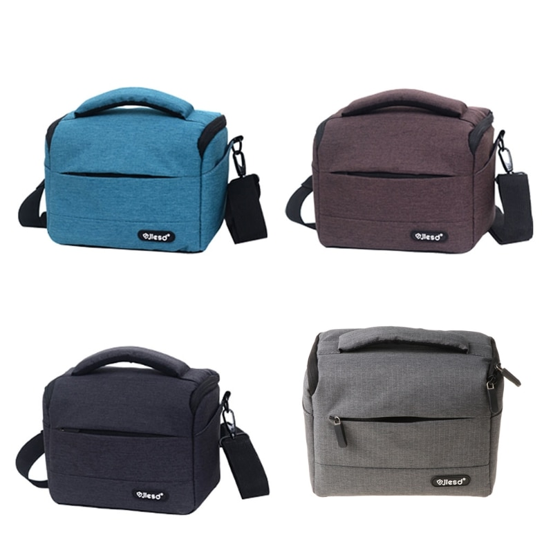 Camera Bag Backpack Durable Polyester Shoulder Crossbody Bag Waterproof Photography Photo Carrying Case for Canon Nikon J0PB