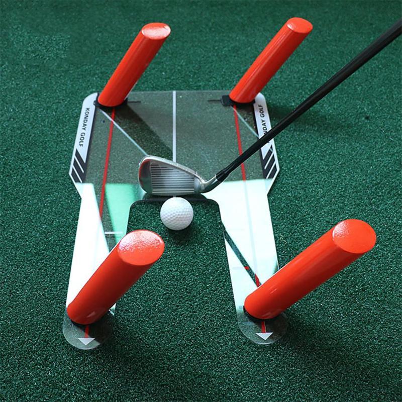 PC Golf alineación entrenador ayuda Swing formación trampa de velocidad práctica Base herramienta