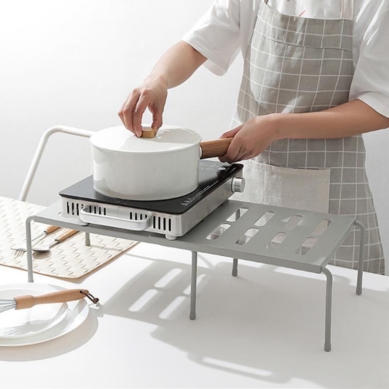 رف منظم ABS متعدد الأغراض قابل للتعديل لغرفة معيشة المطبخ والحمام L5