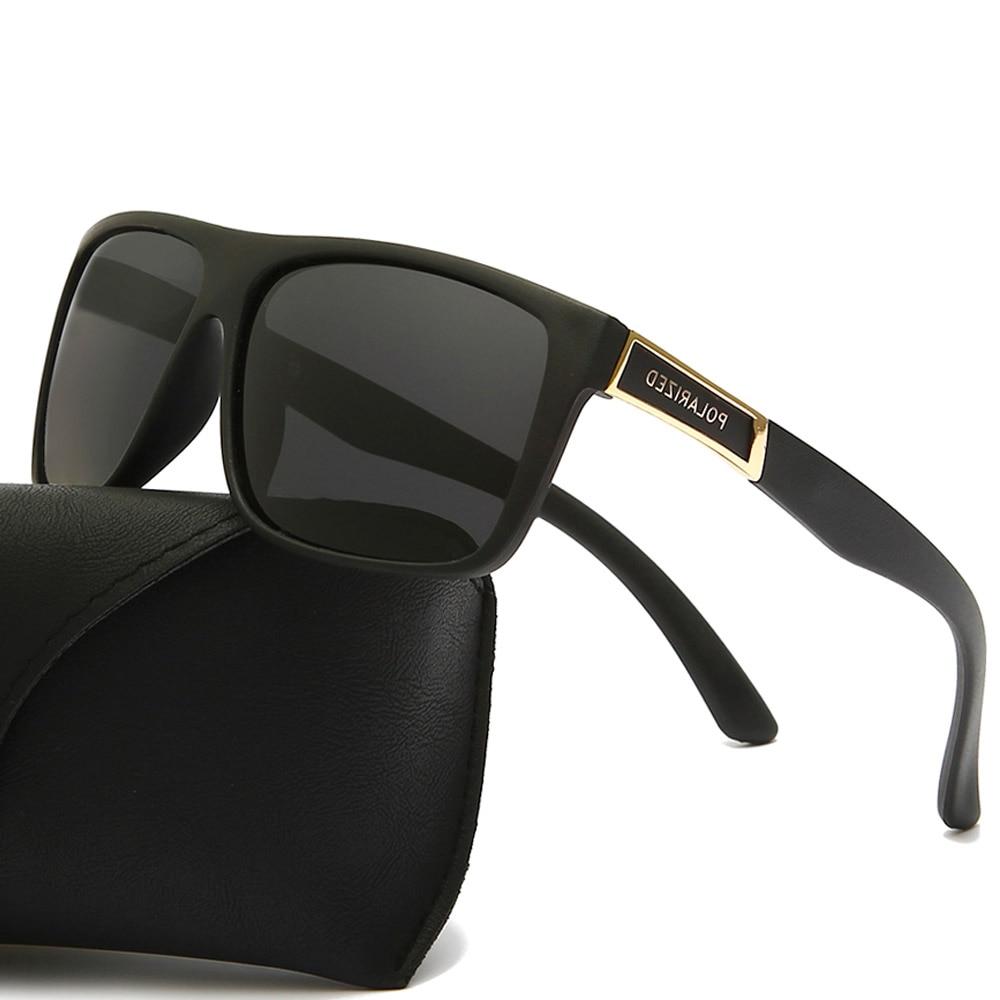 Gafas de sol polarizadas clásicas para hombre, diseño de marca masculinos de...