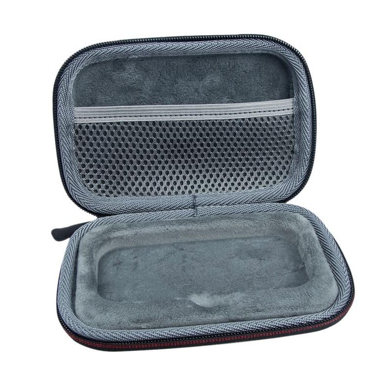 Bolsa de almacenamiento de viaje portátil, funda dura EVA para disco duro Sandisk SSD