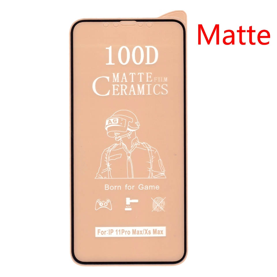 50Pcs\Lot 100D Full Cover Soft Ceramic Tempered Glass For Xiaomi Redmi 9 Prime Power Note 9 Pro Max 9T 9S Screen Protector Film