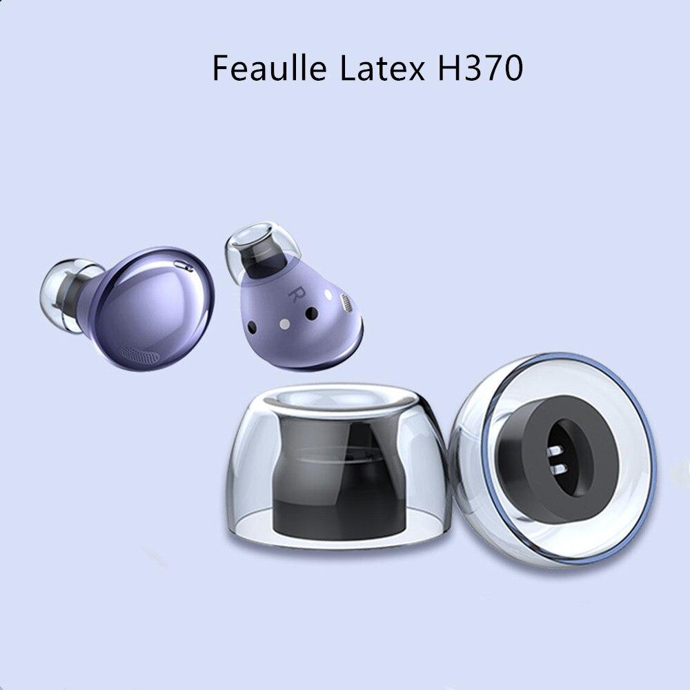 Латексные наушники Feaulle H370 TWS, насадки для наушников Samsung Budspro Huawei Freebuds4i Oppo Encox, наушники