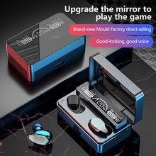 Auriculares inalámbricos tws con bluetooth 5,1, cascos deportivos con pantalla led hd, con micrófono, powerbank, para iso, android, nuevos