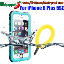 Waterproof Case For IPhone 6 Plus 5 SE 2020 7 8 Original RedPepper IP68 Diving Underwater Swim Outdo