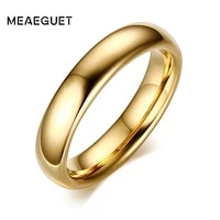 fashion 100 pure tungsten carbide rings 6mm wide gold color wedding bands for women men jewelry