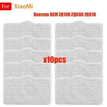 Mop Cleaning Pads For XiaoMi Deerma DEM ZQ100 ZQ600 ZQ610 Handhold Steam Vacuum Cleaner Mop Cloth Ra