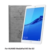 tablet case for huawei mediapad m5 lite 8 0 inch magnetic stand cover for matepad m5 lite 8 tablet support protective case
