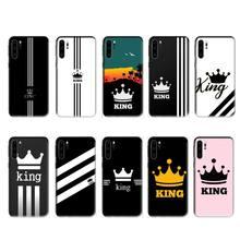 Ivits king Ad case for huawei p20 p30 p40 pro mate 10 20 30 pro lite p smart y7 2019 plus nova 3I cases cover
