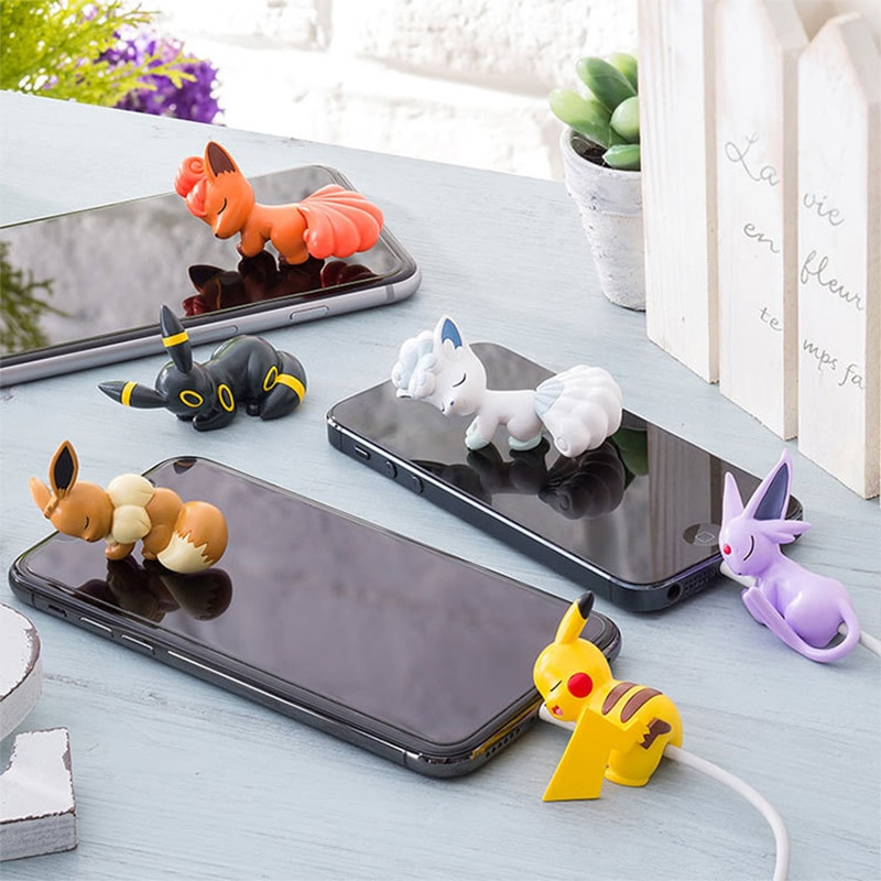 Cute Cool Anime USB Cable Protector Protector Cable For Iphone Cartoon Cable Charging Cord Accessory