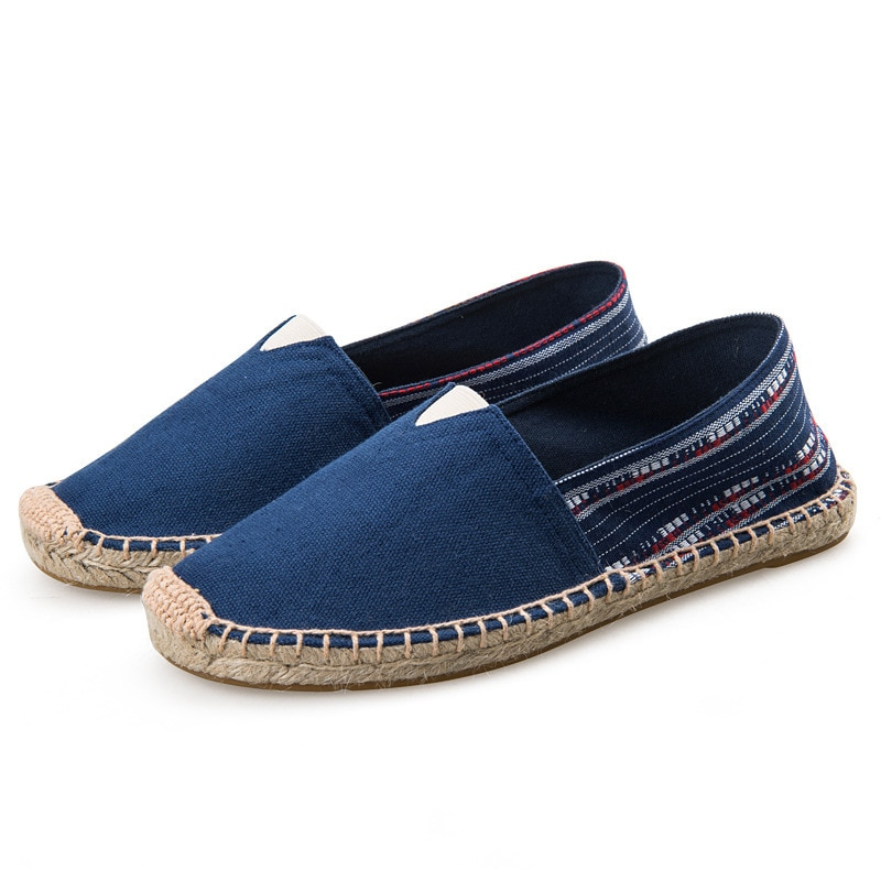chaussure femme Women Shoes Ladies Slip on Loafers Zapatillas Mujer Casual Shoes Espadrilles Hemp Ca