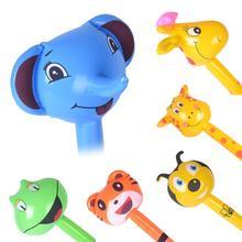 1Pc Giraffe Frosch Tier Aufblasbare Air Stick Schlag Bar Party Kinder Cheer up Requisiten Geeignet für freizeitpark perfekte geschenke spielzeug