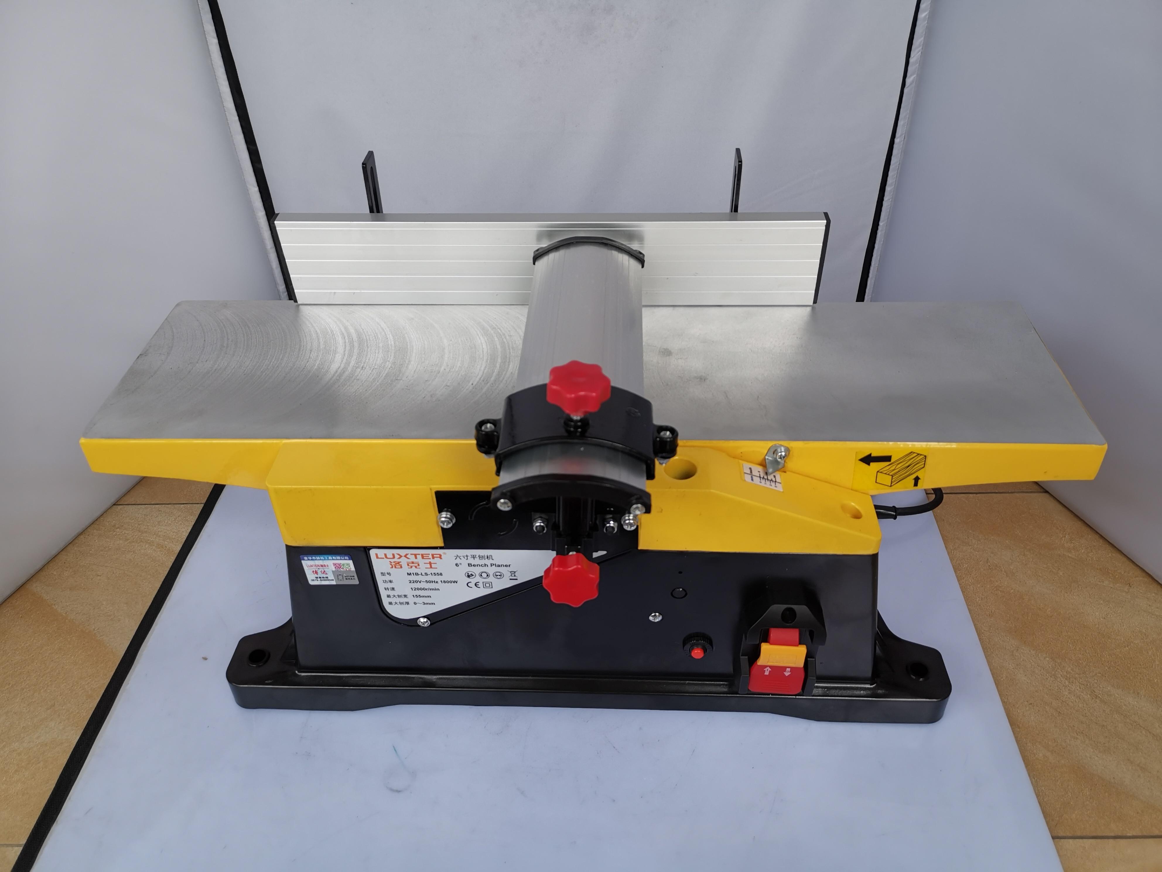 6 بوصة 1800 واط النجارة متعددة الوظائف الكهربائية المسوي ، سطح المكتب نجار الخشب ، أداة كهربائية المنزلية ، المسوي الصغيرة