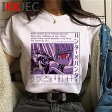 Chasseur x chasseur kirua zoldyck kurapika t-shirt homme grande taille streetwear graphique tees top t-shirts vêtements grande taille