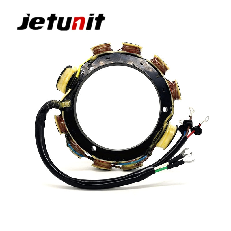 Stator For Yamaha Outboard 177-688-11,177-688-11-00,688-85510-10-00,688-85510-11-00 1988-2000 (75,85 & 90HP) enlarge
