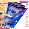 1/2/3/4Pcs Gehard Glas Voor Huawei Honor 10i 20 Pro Screen Protector Beschermende Glas voor Honor 10 9 20 Lite 8S 8A 9X 8X Glas