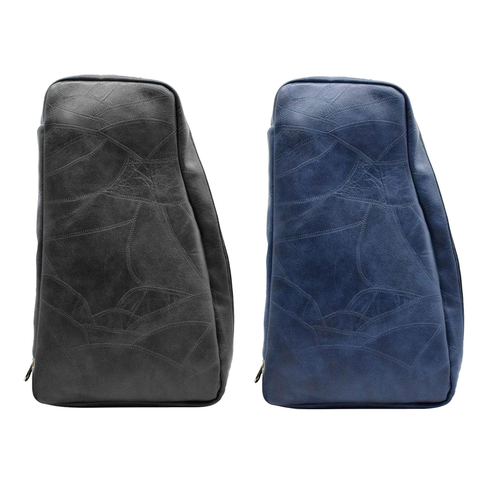 حقيبة كتف أنيقة من الجلد الصناعي ، أدوات صالون ، حقيبة كتف