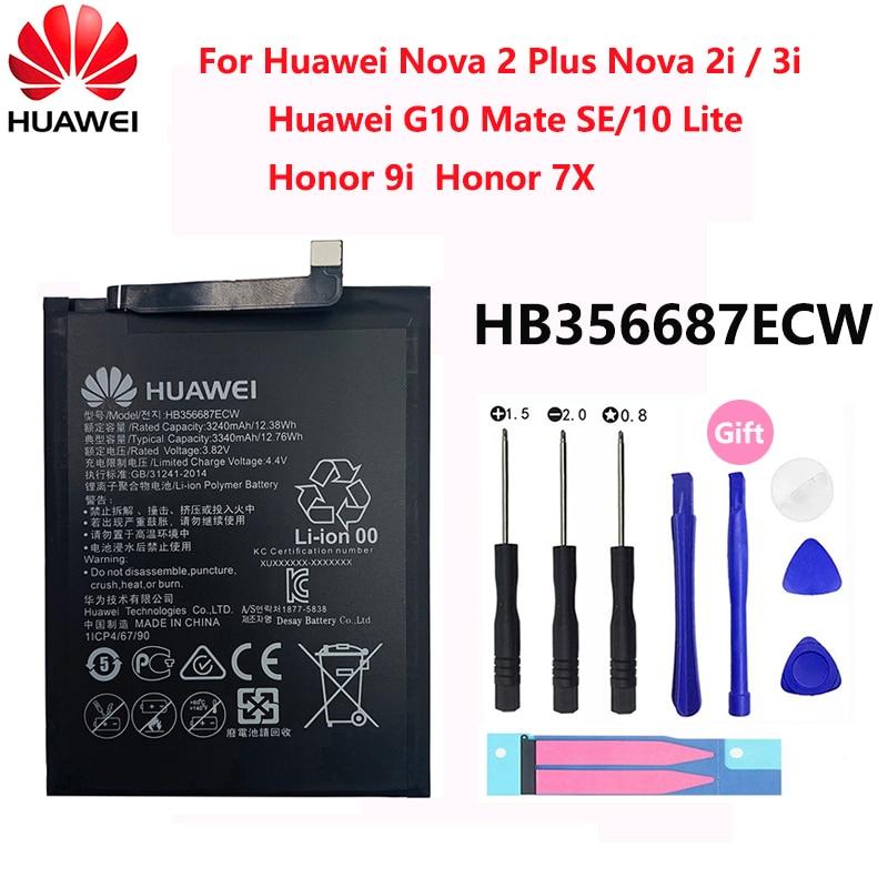 Orginal FOR Huawei P9 P10 P20 Honor 8 9 Lite 10 9i 5C Enjoy   Mate 2 2i 3i 5A 5X 6S 7A 7X G7 Y7 G8 G10 Plus Pro SE Phone Battery enlarge