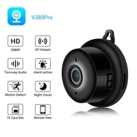 new mini wifi ip remote monitoring camera hd 1080p wireless indoor nightvision two way audio motion detection baby monitor v380