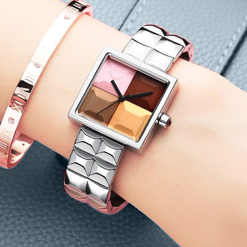 Genuine ladies watch waterproof fashion trend 2021 ladies new Korean version simple casual quartz watch female watch student enlarge