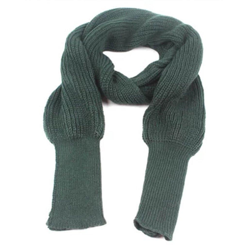 Mantón de lana larga de punto para mantenerse caliente, chal de Color...