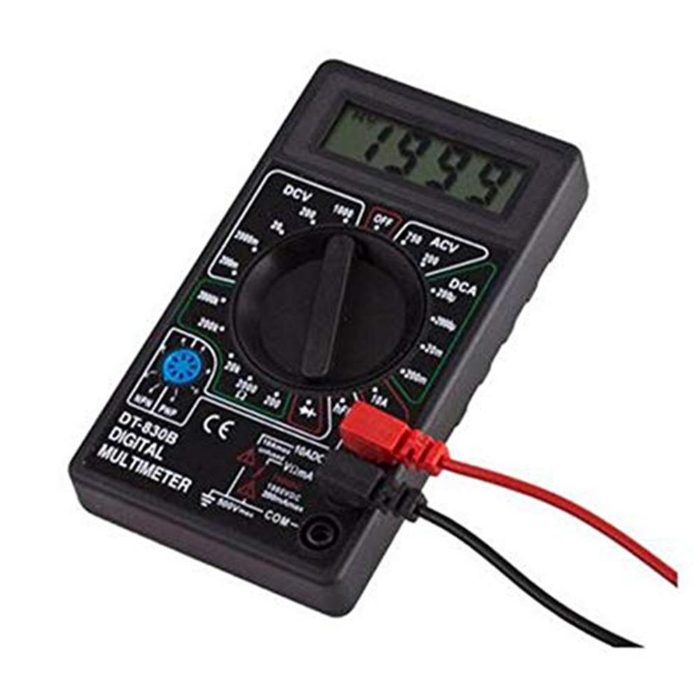 Digital Multimeter High Speed Auto Range LCD Display Capacitance Meter Electric Ammeter Voltmeter Resistance Peak Tester