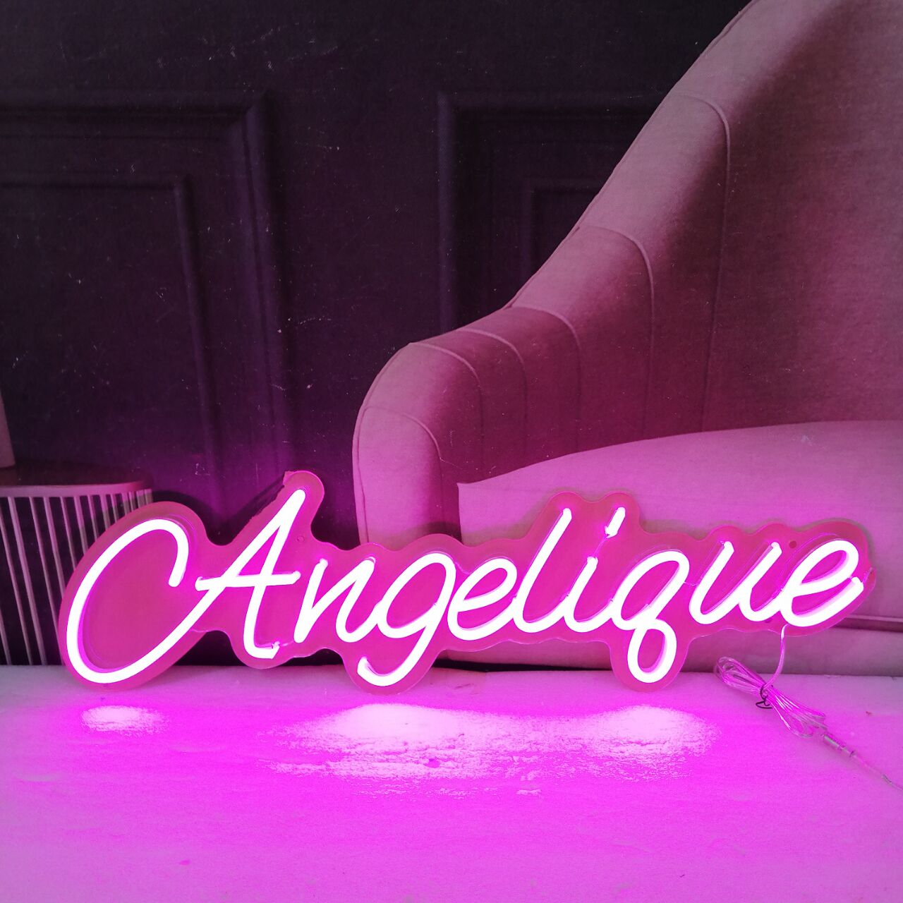 Personalized Logo Customized Letter LED Custom Neon Signs Light for Girlfriend Gift  Birthday Decoration Valentine's Day