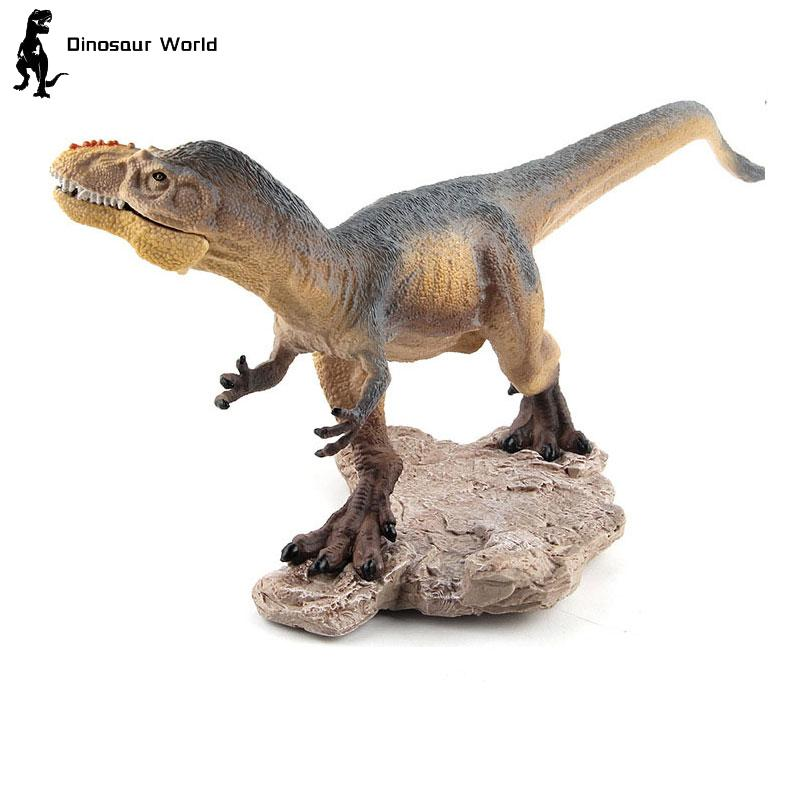 big size cute simulation fox toy resin Big Size Dinosaur Toy PVC Plastic Yutyrannus simulation Model Action Figures Educational Kids Boy Birthday Christmas Gifts