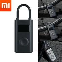 Xiaomi Mijia Portable Smart Home Digital Tire Pressure Detection Electric Inflator Pump for Bike Motorcycle Car Football