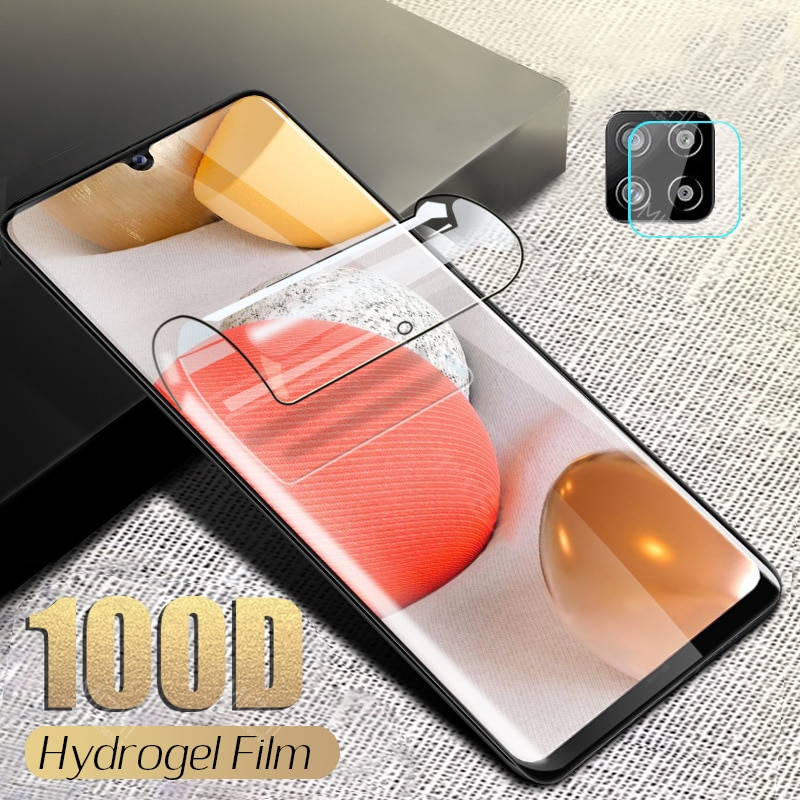 100D Hydrogel Soft Film For Samsung A42 Screen Protector For Samsung Galaxy A42 A 42 SamsungA42 Came