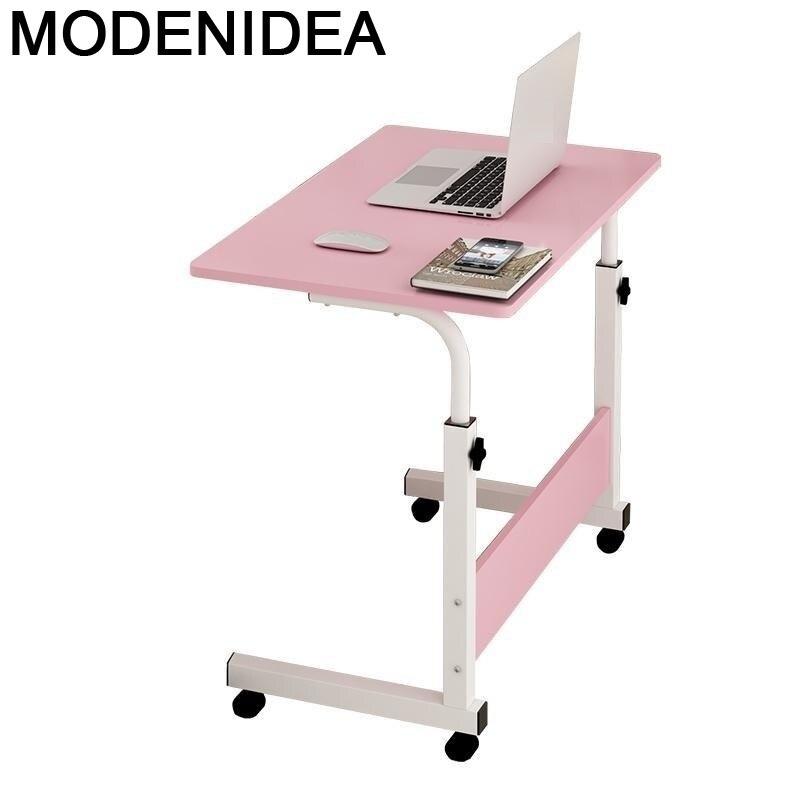 Escrivaninha portátil organizadora, escritório, ajustável, cabeceira, laptop, mesa, estudo