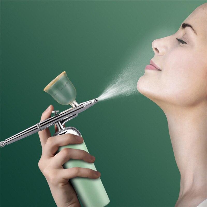 بخاخ الوجه بالحقن والأكسجين ، رذاذ الماء ، جهاز البخار المرطب ، التجميل ، آلة السبا ، أداة تجديد الجلد
