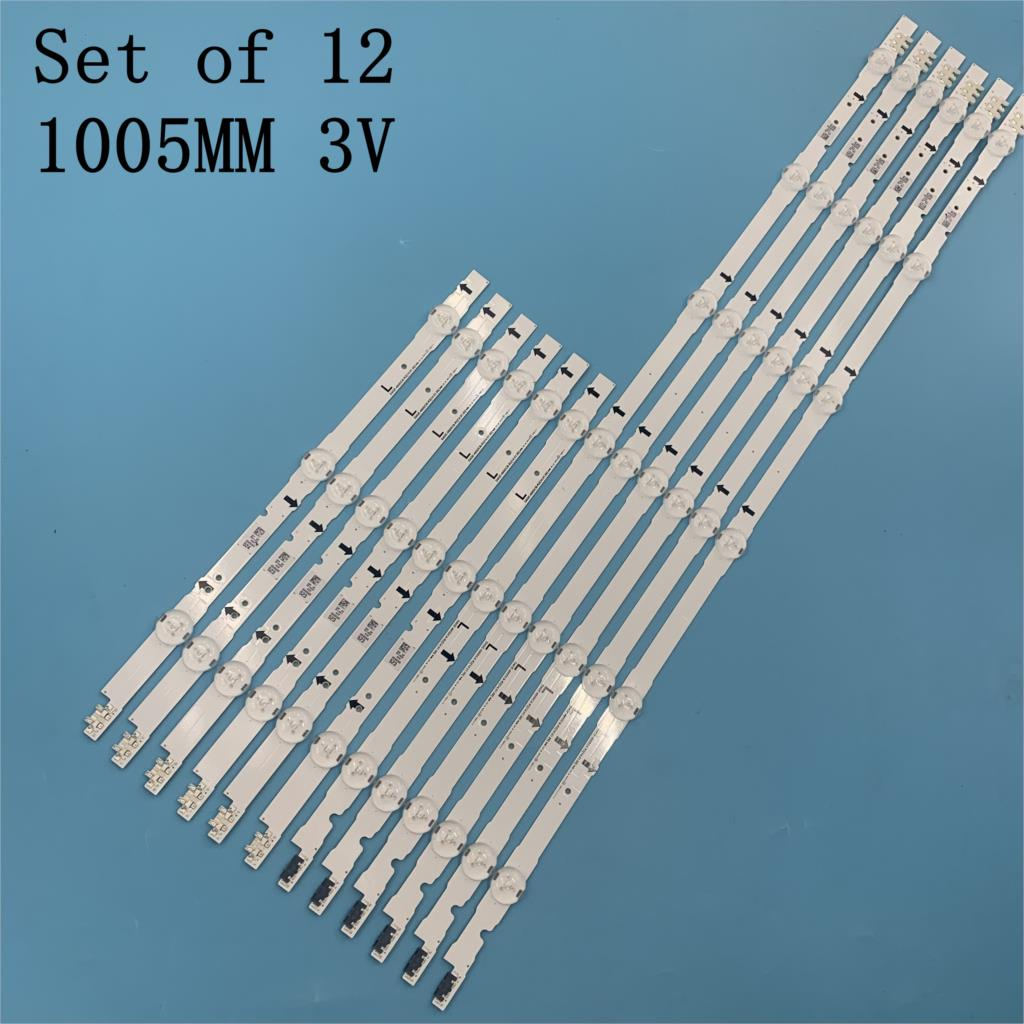 12 PCS LED backlight strip for Samsung UE48H6400 UE48H6200AK BN96-30453A 30454A D4GE-480DCA 480DCB-R3 R2 38891A 38892A 30418A