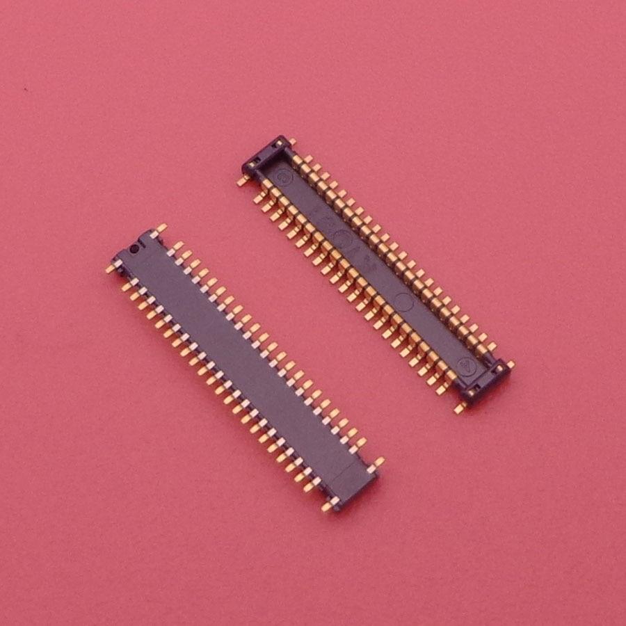 30 unids/lote pantalla LCD conector FPC hembra para Samsung GALAXY S3 I9300 I9305 I9308 I939 Logic en placa base