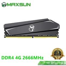 MAXSUN Полный новый ПК с оперативной памятью в DDR4 4 Гб 2666 МГц 3 летняя гарантия 1,2 V 288Pin Интерфейс Memoria ОЗУ DDR4 модуль настольных компьютеров Оперативная память      АлиЭкспресс