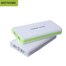 NATTHSWE 10000 mAh Power Bank Portable Powerbank battery 30000mah External Charger USB Type C for xiaomi HUAWEI Phone