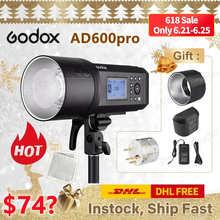 Карманная вспышка Godox AD600Pro TTL светильник Canon Nikon DSLR аксессуары для фотостудии youtube live PK Godox AD200pro