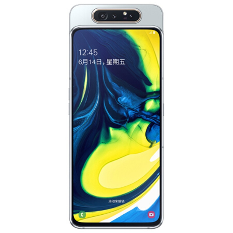 Фото3 - Смартфон Samsung Galaxy A80 A8050, экран 6,7 дюйма infinity, Восьмиядерный процессор Snapdragon 730G, 8 Гб 128 ГБ, вращающаяся камера 48 МП, мобильный телефон
