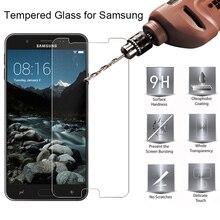 Ecran verre trempé pour Samsung Galaxy J5 2016 J7 Prime 2 verre trempé sur J3 2015 9H verre HD pour Samsung J730 J7 2017 EU